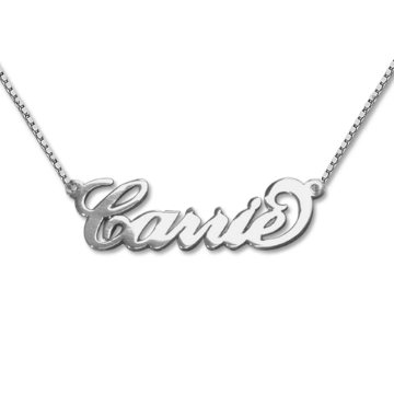 small sterling silver child's Name Necklace