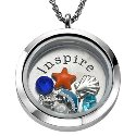 Floating Charm Locket - Inspire