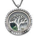Floating Charm Locket - Tree Of Life