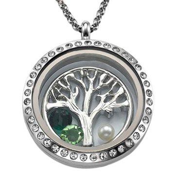 Floating Charm Locket - Tree Of Life