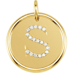 Posh mommy jewellery personalised sterling silver and gold mothers letter pendants aloadofball Image collections