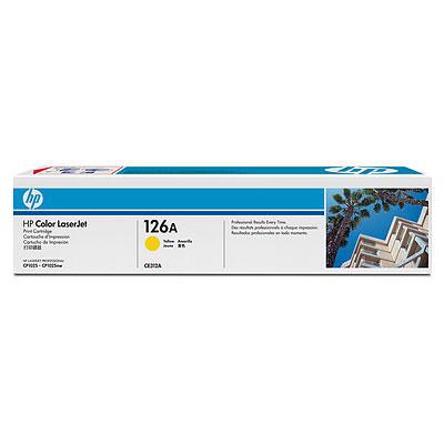 HP CE 312A Toner