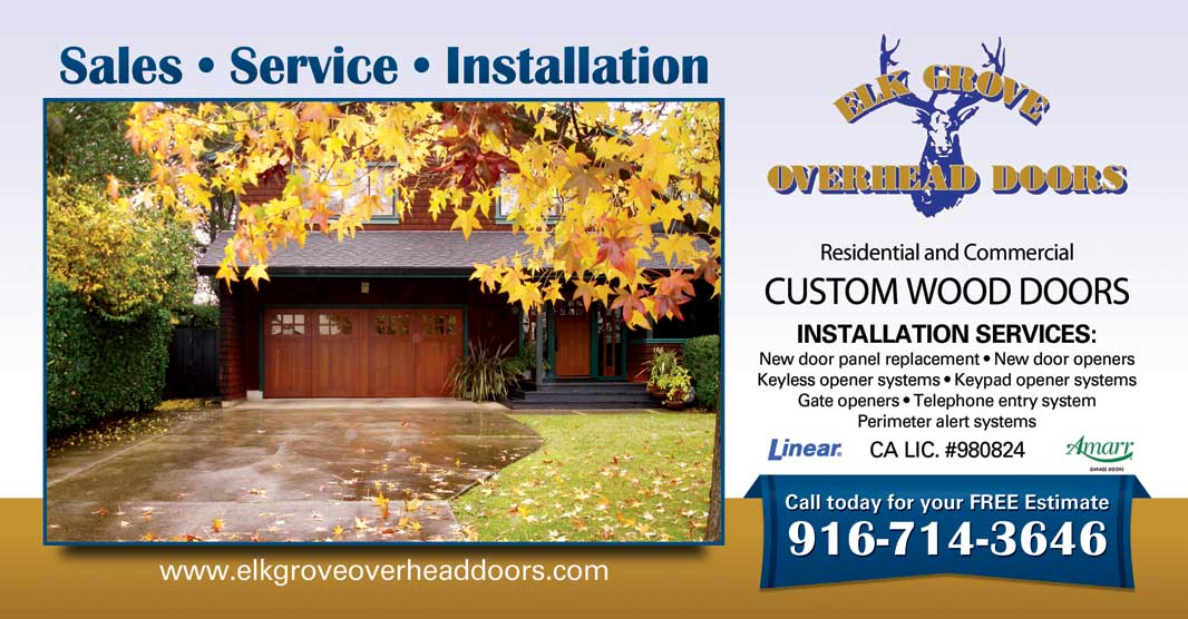 Elk Grove Overhead Doors, Part Of United Door Sales, Provides Sales,  Service, And Installation For Garage U0026 Overhead Doors In Elk Grove And The  Central ...