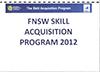Football NSW Skills Acquisition Program