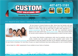 Custom Pest Solutions