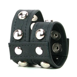 Ball Strap Leather Ring