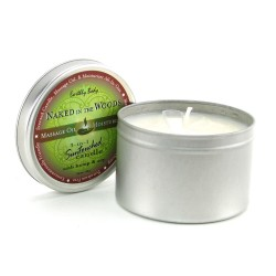 Naked In The Woods - Massage Oil Candle