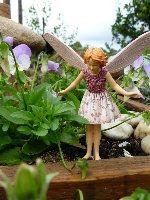 Wild Thyme Flower Fairy Figurine