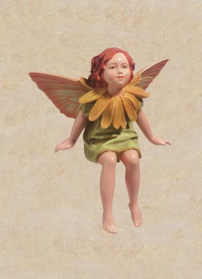 Marigold Flower Fairy Figurine