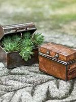Antiqued Miniature Chest