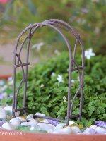 Wire Arbour Micro Miniature Fairy Garden