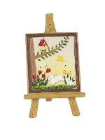 Miniature Merriment Mini Artist Easel