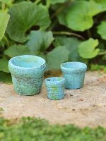 Miniature Clay Pots Gypsy Garden