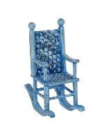 Miniature Merriment Mini Blue Rocking Chair