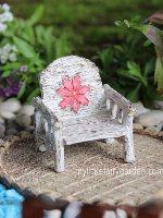 Daisy Chair Fairy Garden Miniature
