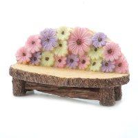 Daisy Flower Bench Miniature Fairy Garden