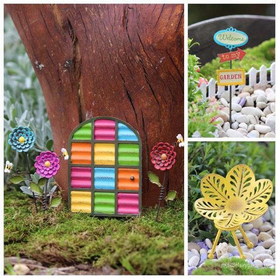 Flowers by the Door Kit Fairy Garden