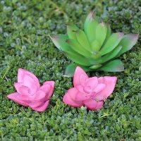 Artificial Succulents Miniature Fairy Garden