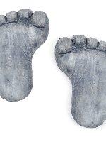 Miniature Fairy Garden Footprint Stepping Stone Set 2