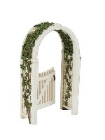 Miniature Merriment Mini Gated Arbor with Vine