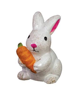 Bunny with Carrot Gypsy Garden
