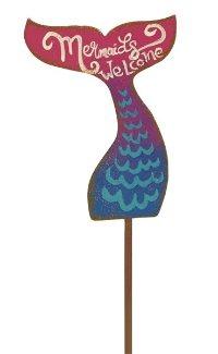 Miniature Fairy Mermaid Sign Gypsy Garden