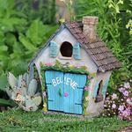 Believe House Opening Door Miniature Fairy Garden