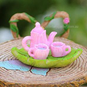 Miniature Tea Set Fairy Party