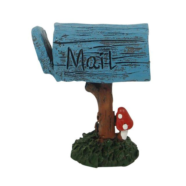 Miniature Mailbox Fairy Garden