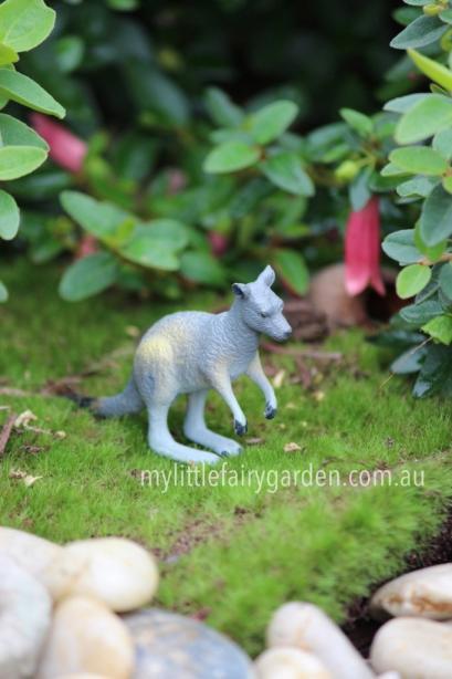 Miniature Kangaroo Fairy Garden