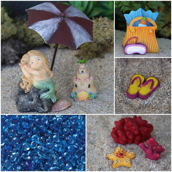 Mermaid Kit Fairy Garden
