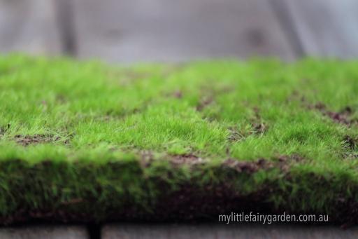 Moss Mat Fairy Garden Miniature