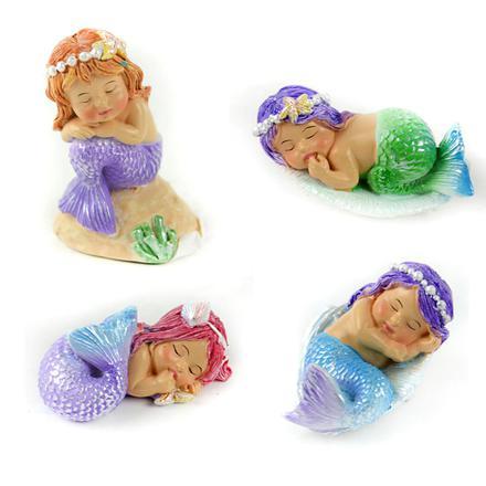 Sleeping Mermaids Miniature Fairy Garden