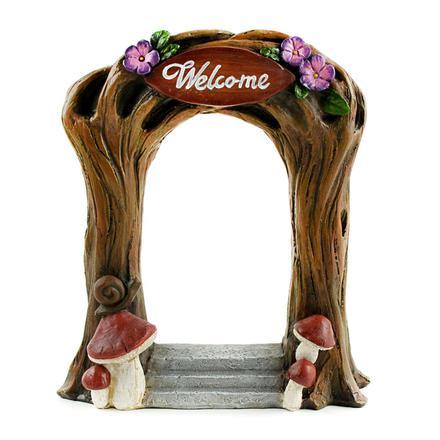 Welcome Archway Miniature Fairy Garden