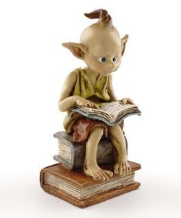 Pixie Reading Miniature Fairy Garden