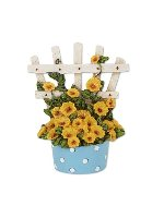 Miniature Merriment Mini Polka Dot Potted Trellis