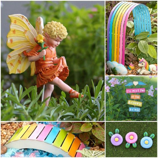 Rainbow Kit Fairy Garden
