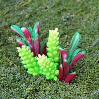 Artificial Succulents Miniature Fairy Garden