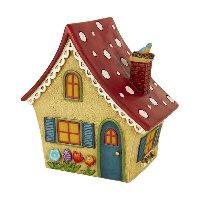 Miniature Merriment Solar Fairy Cottage