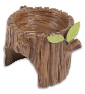 Miniature Stump Planter Gypsy Garden