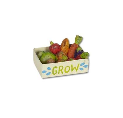 Miniature Veggie Crate Gypsy Garden