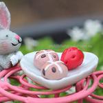Miniature Fairy Heart Plate Food