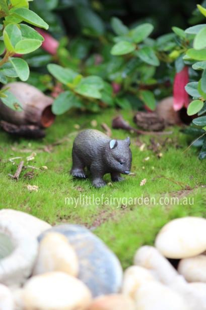 Wombat Miniature Fairy Garden