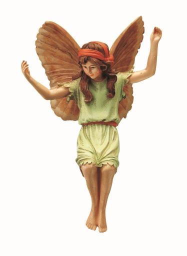 Rosehip Flower Fairy Figurine