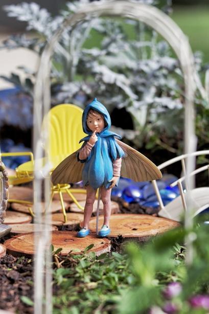 Scilla Flower Fairy Figurine