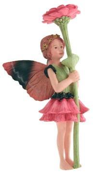 Zinnia Flower Fairy Figurine