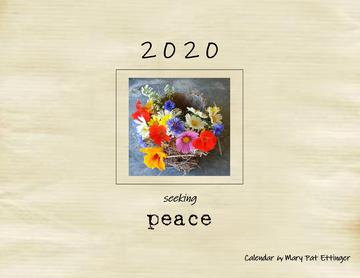 Calendar for 2020  'Seeking Peace'