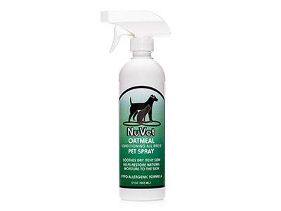 NuVet Dry Shampoo Spray