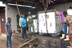 Ongoing Power Project-One Generator Installed