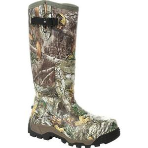 Rocky Low Country Waterproof Snake Boot - Mossy Oak Camo